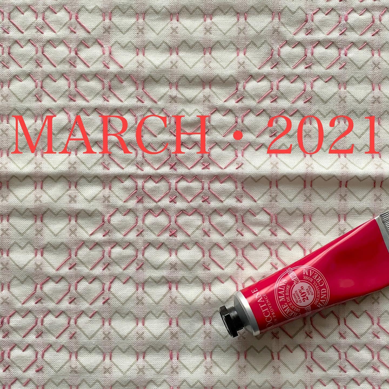 3月スタート バレンタインデーに間に合わなかった️の刺し子ふきん、まだ途中、ホワイトデーには間に合わせたい。#march#2021#ホビーラホビーレ#刺し子 #花ふきん#刺し子ふきん#刺し子のある暮らし#手仕事#handmade #sashikostitching #sashiko#stitch#stitching#japaneseculture #Traditionalculture#おうち時間を楽しみたい#今日も針仕事が出来る事に感謝
