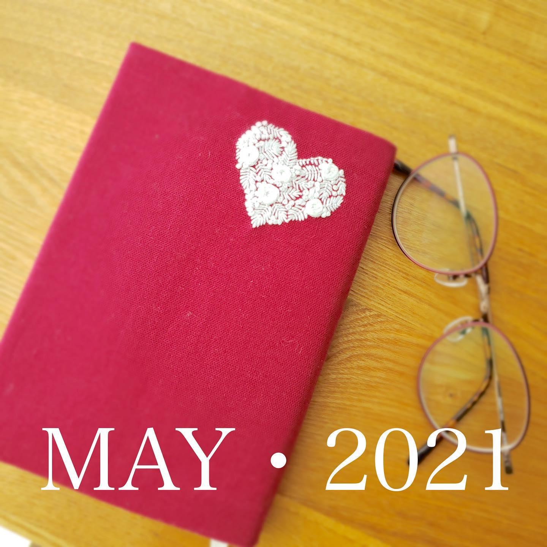 #MAY#2021#令和3年#5月昨日4月30日は#図書館の日 だったそうです。#ゴールデンウィーク#何読む?#ブックカバー #tomoprix#minne